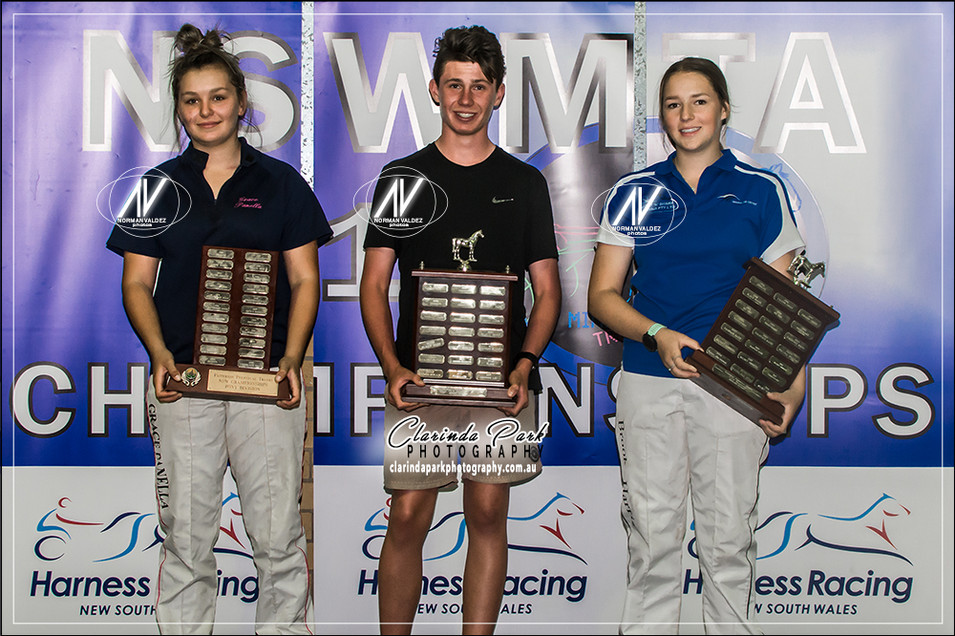 The CHAMPIONS at NSW Mini Trots Championships 2018