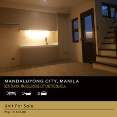 Property For Sale at New Zaniga, Mandaluyong