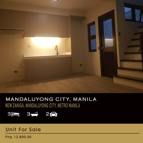 Property For Sale at New Zaniga, Mandaluyong