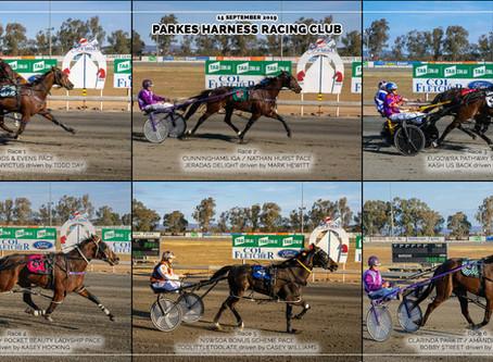 Parkes Harness Racing Club Winners - 15 SEPTEMBER 2019