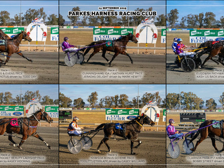 Parkes Harness Racing Club Winners - 15 SEPTEMBER 2019