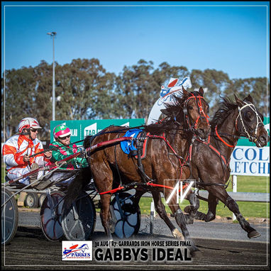 Parkes Harness Race Winners: GABBYS IDEAL driven by Nathan Hurst