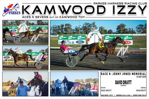 Race 8 - JENNY JONES MEMORIAL - KAMWOOD IZZY