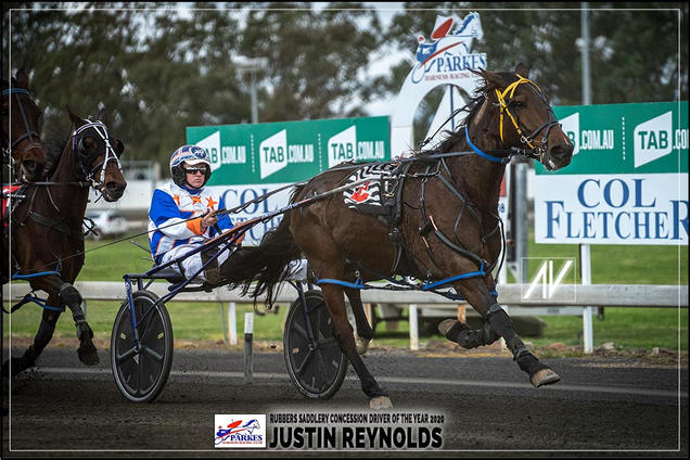 JUSTIN REYNOLDS - Rubbers Saddlery Concession Driver Of