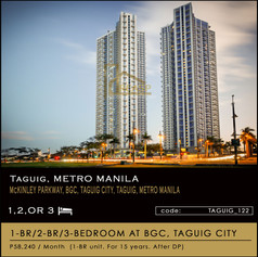 The Trion Tower in BGC, Taguig City by Robinson Land Corp