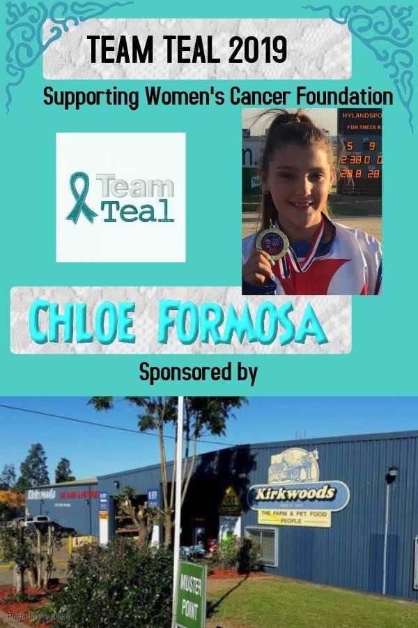 Team Teal 2019 - 001 - Chloe Formosa spo