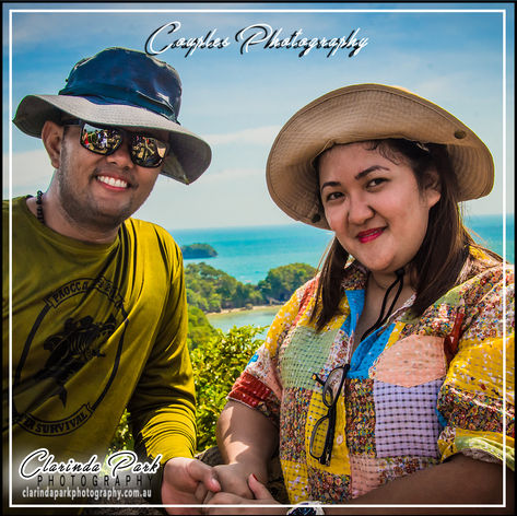 COUPLE PHOTOS by Clarinda Park Photography: Andy and Judy