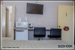 Oasis Motel Peak Hill - Queen Room - 004