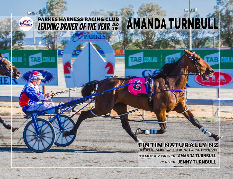 2019 PARKES Leading Driver Of The Year - AMANDA TURNBULL