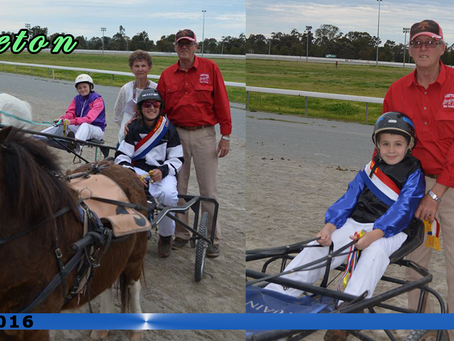 First Outing for Leeton Mini Trotters