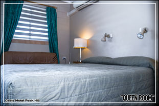 Oasis Motel Peak Hill - Queen Room - 003
