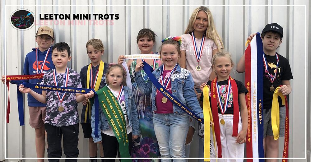 Leeton Mini Trotters Open Their New Season 2019-2020.
