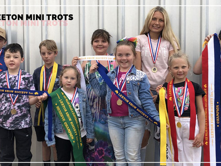 Leeton Mini Trotters Open Their New Season