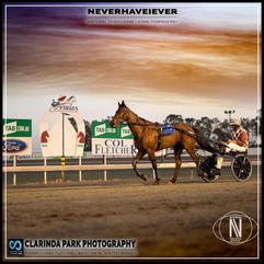 PARKES HARNESS - Race 3 - PARKES LEAGUES CLUB PACE - NEVERHAVEIEVER wins at Parkes Trots