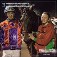 02 AUGUST 2019 - Parkes Harness Racing Club Race Meeting - FRANKIES TOOTH driven by Tom Pay and trained by Gemma Rue at Parkes Trots