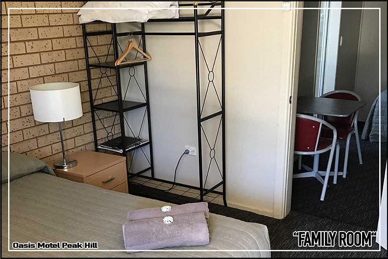 Oasis Motel Peak Hill - Book Family Room at Peak Hill Oasis Motel