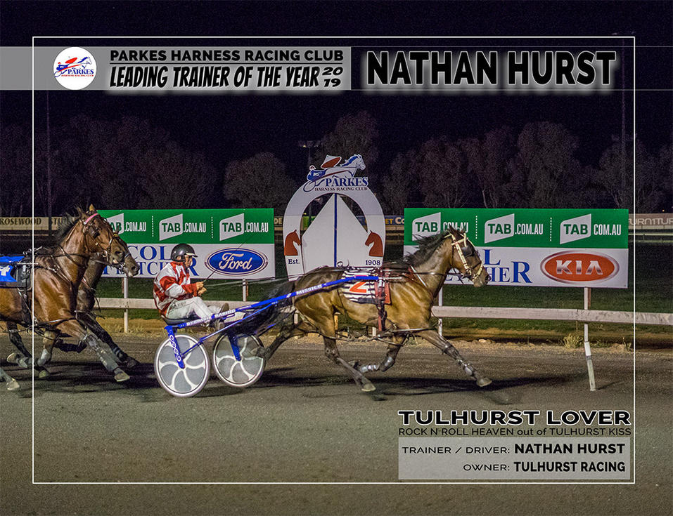2019 PARKES Leading Trainer Of The Year: NATHAN HURST
