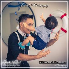 ZIGY'S 1st Birthday Celebration