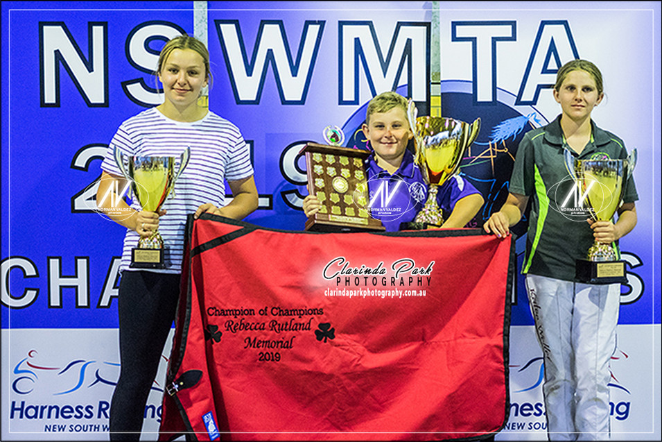 The CHAMPIONS at NSW Mini Trots Championships 2019