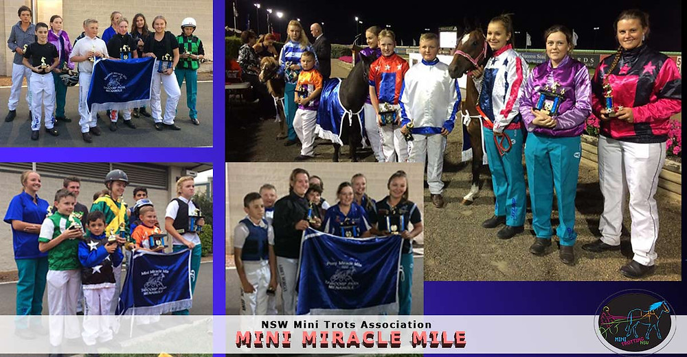 NSW Mini Trots Association Teal Campaign
