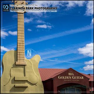 TRAVEL PHOTOGRAPHY: The Big Guitar at Tamworth New South Wales