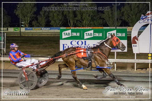 Race 5 - COL FLETCHER FORD Pace - JUST WON MORE - Nathan Turnbull