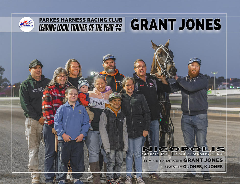 2019 PARKES Leading Local Trainer Of The Year - GRANT JONES