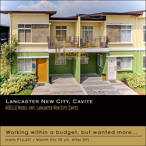 Adelle Model Unit, Lancaster New City, Gen. Trias, Cavite