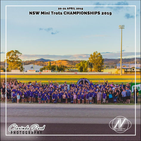 New South Wales Mini Trots Association Championships 2019 - Group Photo
