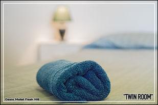 Oasis Motel Peak Hill - book Twin Room - 016