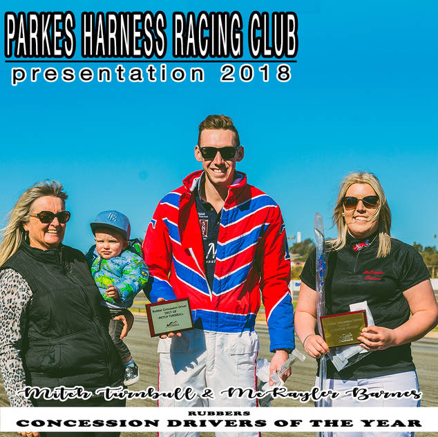 Parkes Harness Awards and Presentation 2018 - CONCESSION DRIVERS OF THE YEAR