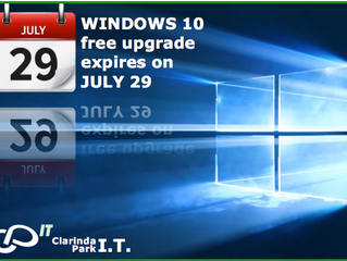 Windows 10 free upgrade is set to expire end of July