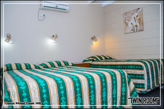 Oasis Motel Peak Hill - book Twin Room - 001