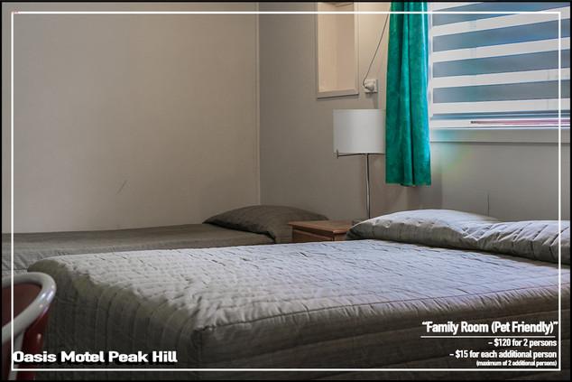 Oasis Motel Peak Hill - Family Room Pet Friendly 009