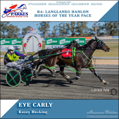 Parkes Harness Winner - R4: Langlands Hanlon Horses Of The Year