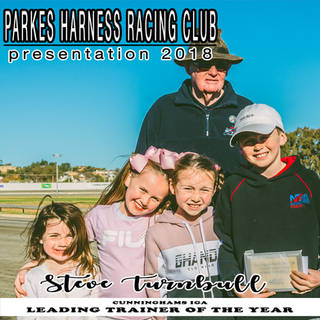 Parkes Harness Awards and Presentation 2018 - LEADING TRAINER OF THE YEAR