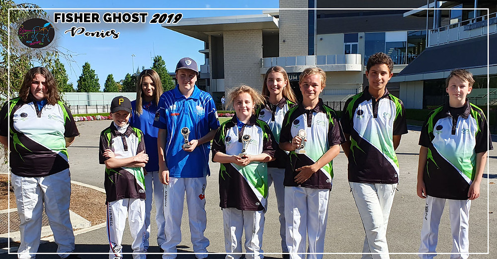 NSW Mini Trots Fishers Ghost 2019 - Ponies Division Participating Drivers