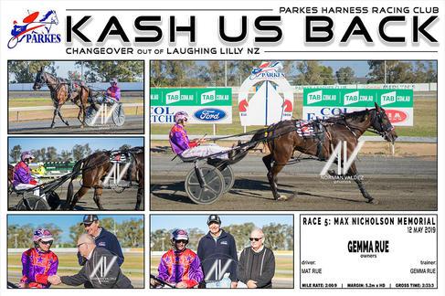 Race 5 - MAX NICHOLSON MEMORIAL - KASH US BACK
