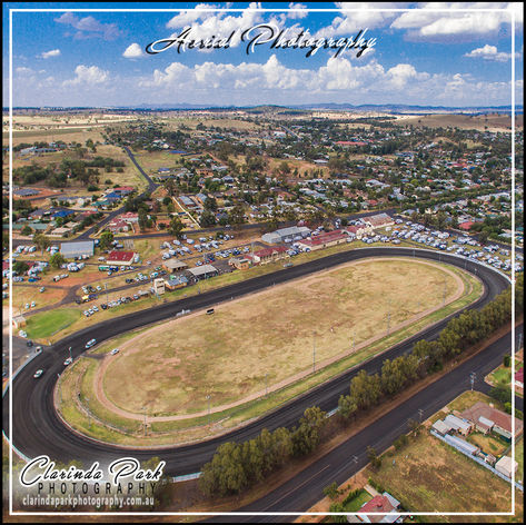 AERIAL PHOTOGRAPHY: Parkes Showground at Parkes, New South Wales