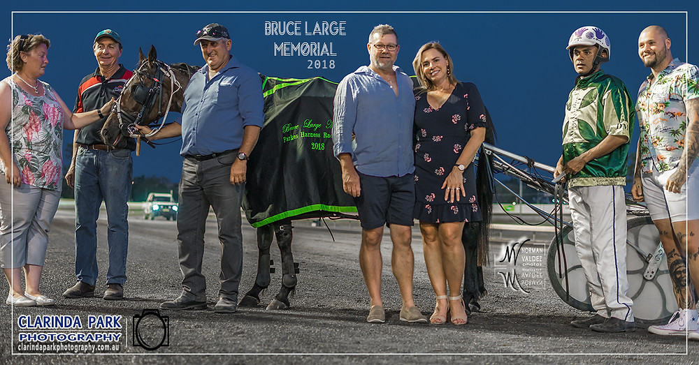 Parkes Harness Racing Club Harness Racing Photos of Horse Winners on 22 December 2018. Parkes Harness Race Meeteing before the New Years Eve Carnival Of Cups. 37th Season of Bruce Large Memorial.