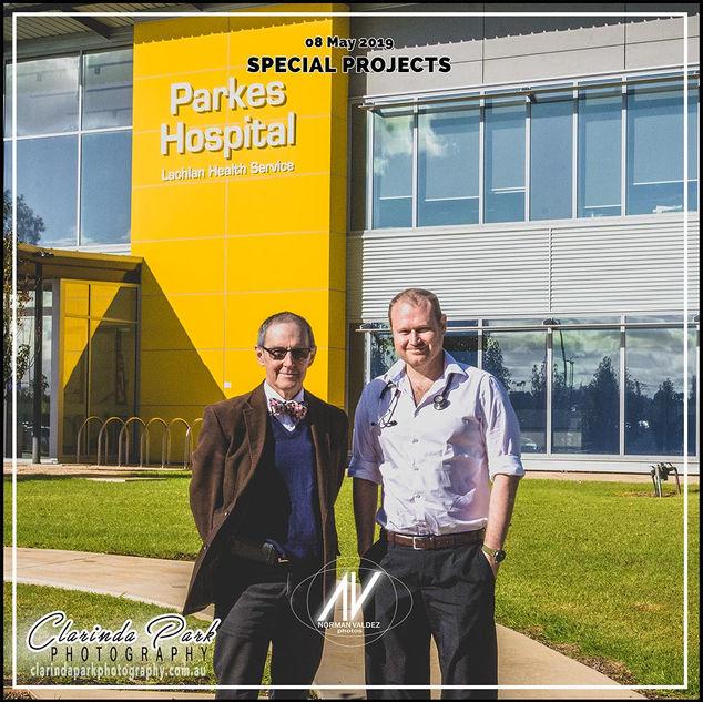 Parkes GPs Photo Shoot at Parkes Hospital