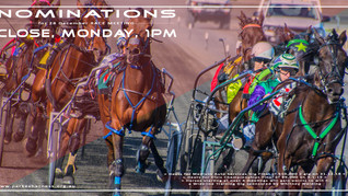 Parkes Harness Nominations Close 24th December 1pm