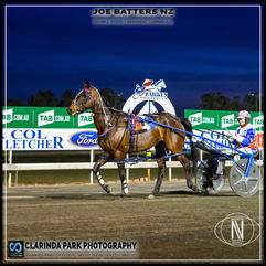 PARKES HARNESS - Race 4 - COL FLETCHER FORD KIA PACE - JOE BATTERS NZ wins at Parkes Trots