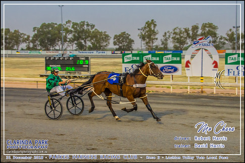 Race 3 - Lachlan Valley Vets Local Pace - MO CHARA - Robert Harris - 001