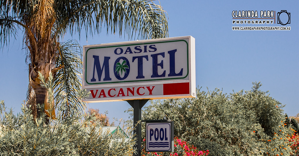 Clarinda Park Photography Takes Property and Room Photos for new website client Oasis Motel Peak Hill.