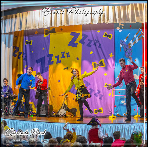 The Wiggles Australia Tour 2017 at Parks Leagues Club