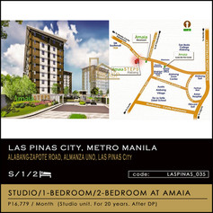 Condo units for sale at Amaia Steps Alabang By Amaia Land Corp.