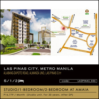 Condo Units at Amaia Steps Alabang by  Amaia Land Corp for sale