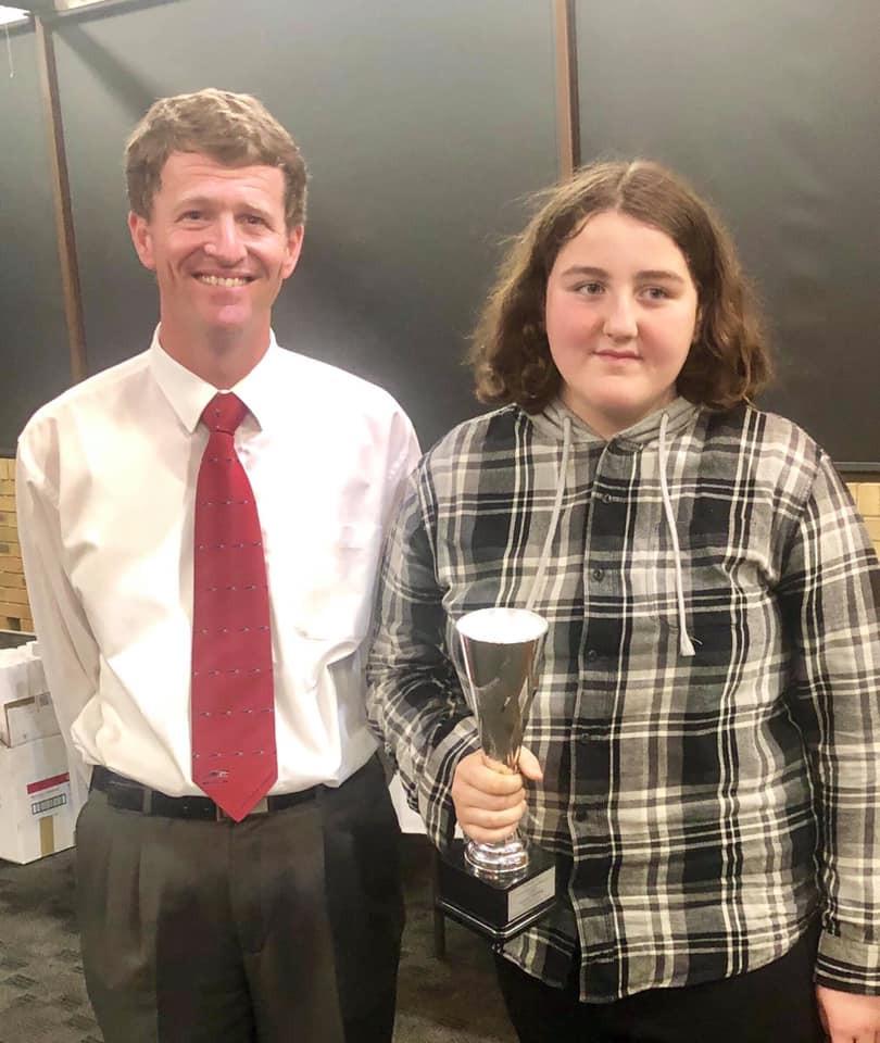 Newcastle Maitland Mini Trots - Encouragement Awards - BRITTANY HARMEY