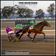 PARKES HARNESS - Race 4 - CREITHS FURNITURE ONE PACE - THE MUSTANG wins at Parkes Trots